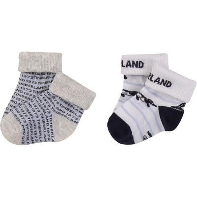Timberland Boys Pack of 2 pairs of socks   SKU   T90260-N28   S/S20