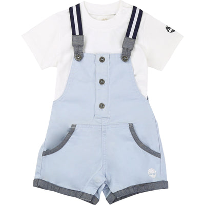 Timberland Boys Azur Dungaree Set