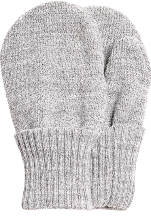 Satila 'Twiddle' baby boys mittens in Little Grey with thumb