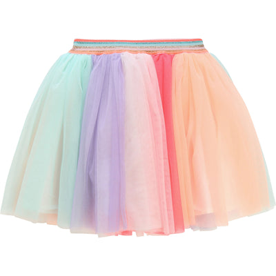 Billieblush Girls Rainbow Tulle Skirt
