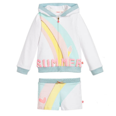 Billieblush Girls Rainbow Tracksuit