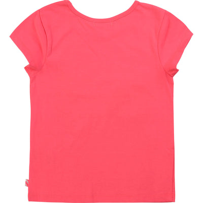 Billieblush Girls Rose Fluo T-Shirt   SKU  U15723-499  S/S20