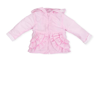 Tutto Piccolo Baby Girls Pink Parka SKU T6518