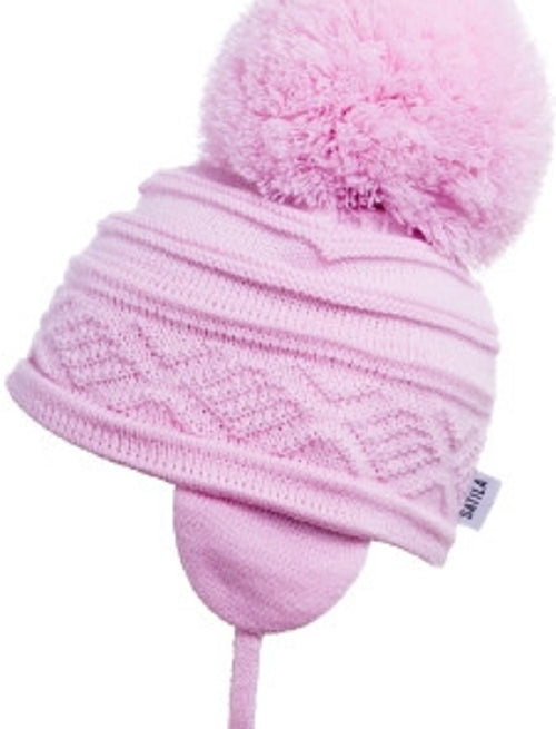 Satila ZELMA Huge Pom Hat Pink   C31812