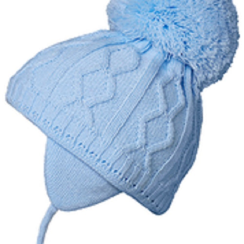 Satila Charlie Blue Pom Hat  C31814