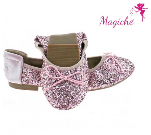 Lelli Kelly  Rosa Glitter Magiche Shoes SKU LK4110