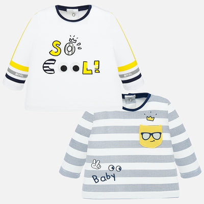 Mayoral Baby Boys Nautical 2 T-Shirts Set