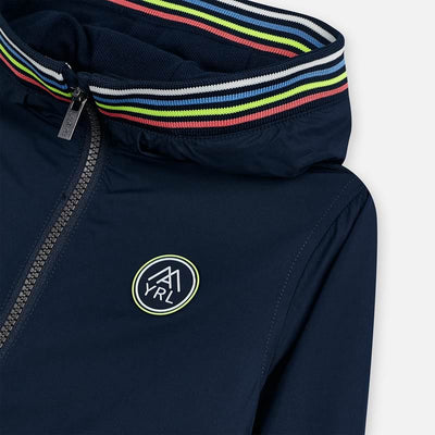 Mayoral Boys Navy Blue Windbreaker