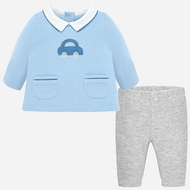 Mayoral Baby Boys Pearl Pants Set - SKU - 2512-64
