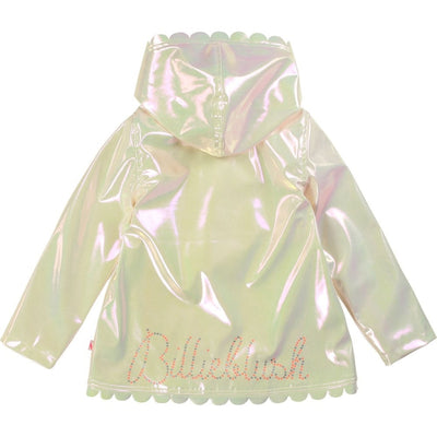 Billieblush Girls Pearl Rain Coat