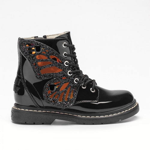 New Lelli Kelly Fairy Wing Black boots