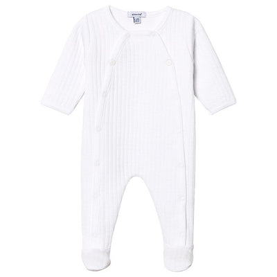 Absorba Baby Unisex White All in one  SKU 9P54041-01