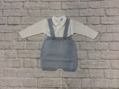 Mac ilusion Baby Boys  2 Piece Brisa Dungree Set    7430