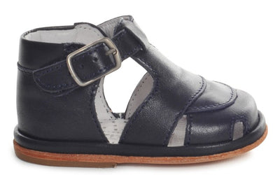Fofito Jack Baby Boys Navy Leather Sandal