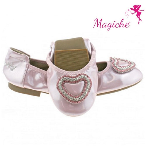 Lelli Kelly Golden Rose Patent Heart Magiche Shoes SKU LK4108