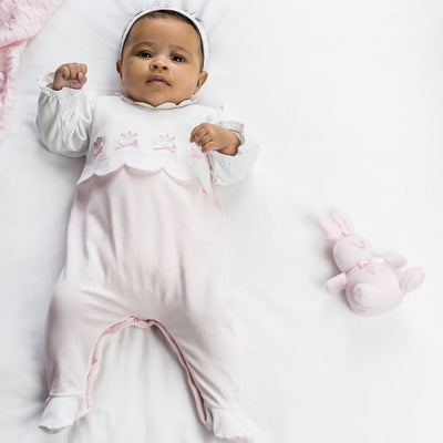 Emile et Rose Girls Babygrow & Hairband Set