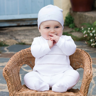 Emile et Rose Sutton Unisex Babygrow & Hat Set