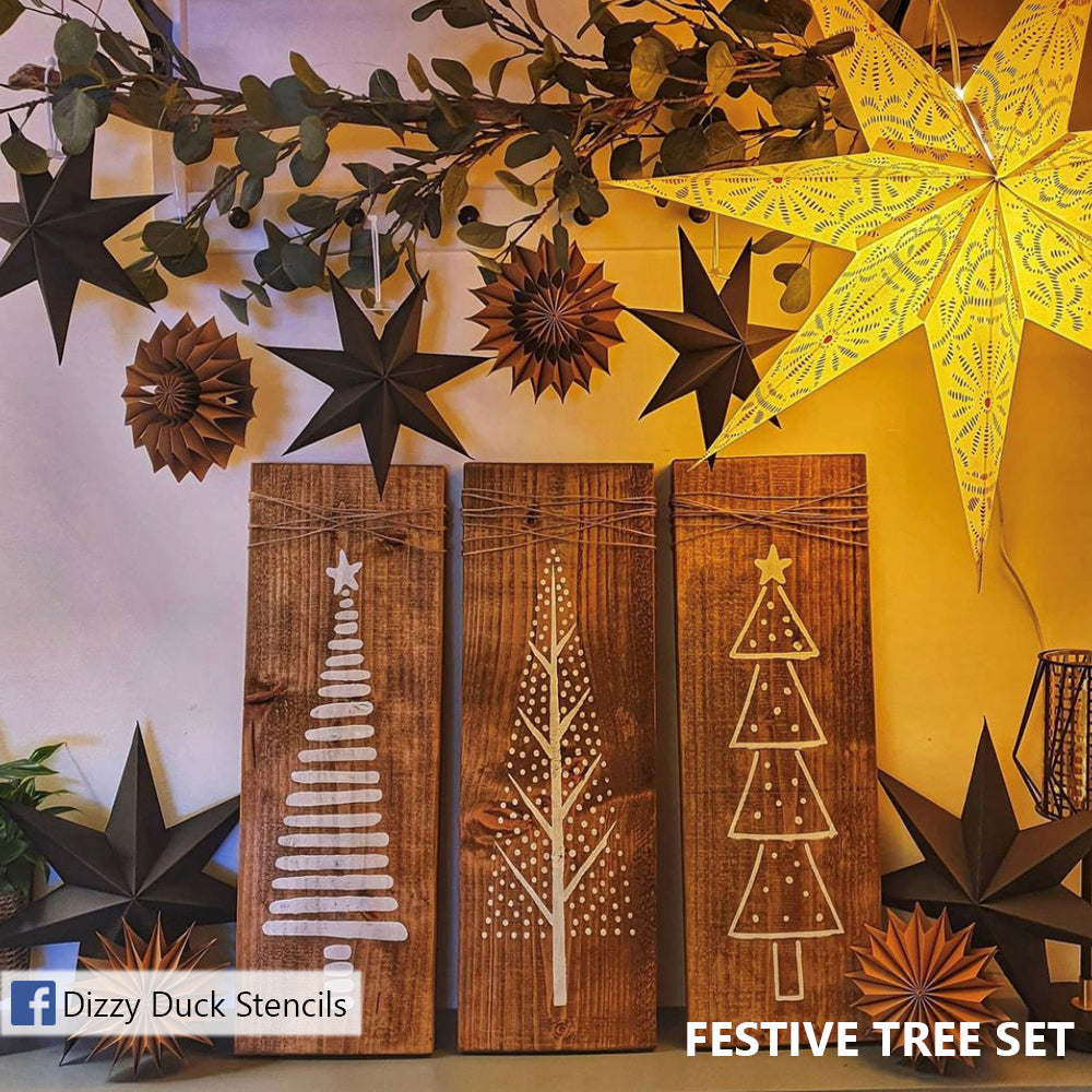 SHOP our Christmas Trees stencils