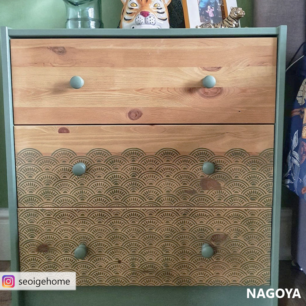 VIDEO of upcycled Ikea drawers