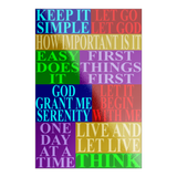 rectangle slogans sticker