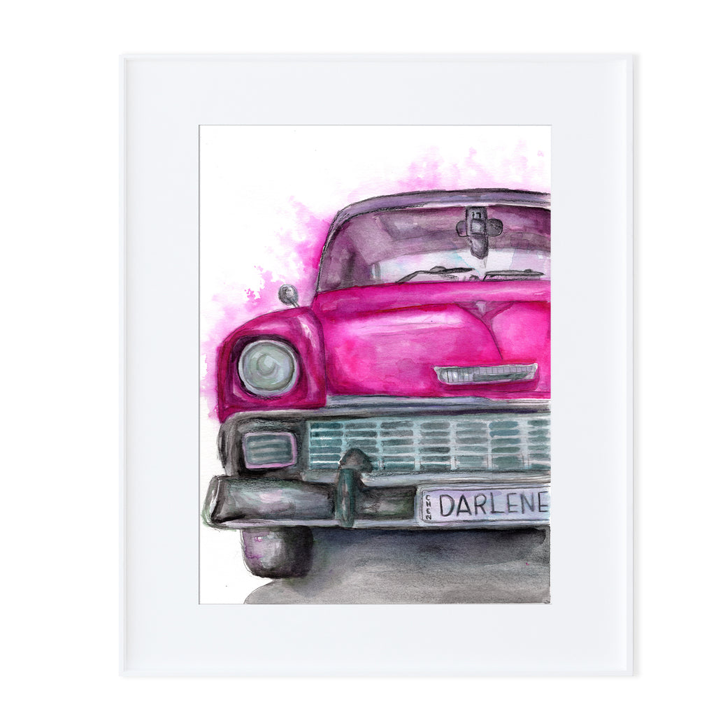 1955 Chevrolet Bel Air-Prints-Morning Blossom Studio