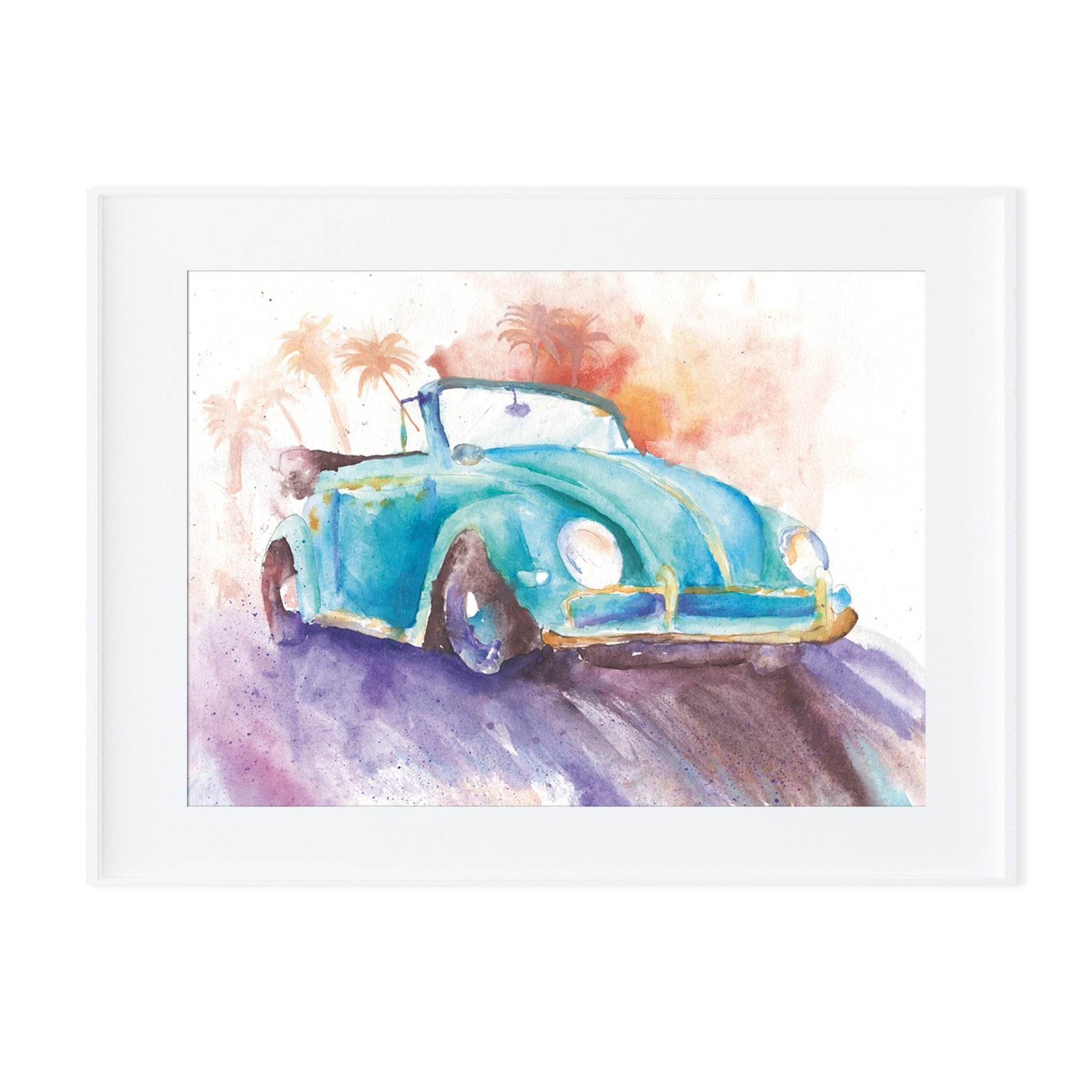 Beetle Convertible-Prints-Morning Blossom Studio