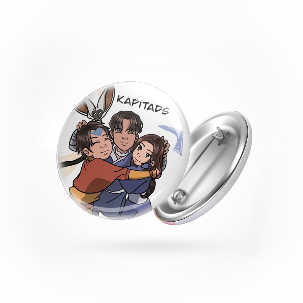Add On: Personalized Button Pins Set