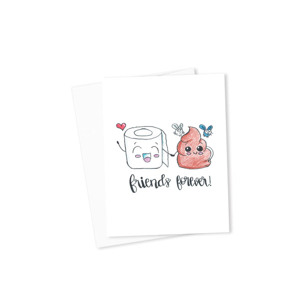 Friends Forever Card-Cards-Morning Blossom Studio