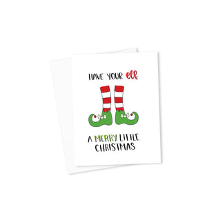 Have Your Elf a Merry Little Christmas Card-Cards-Morning Blossom Studio