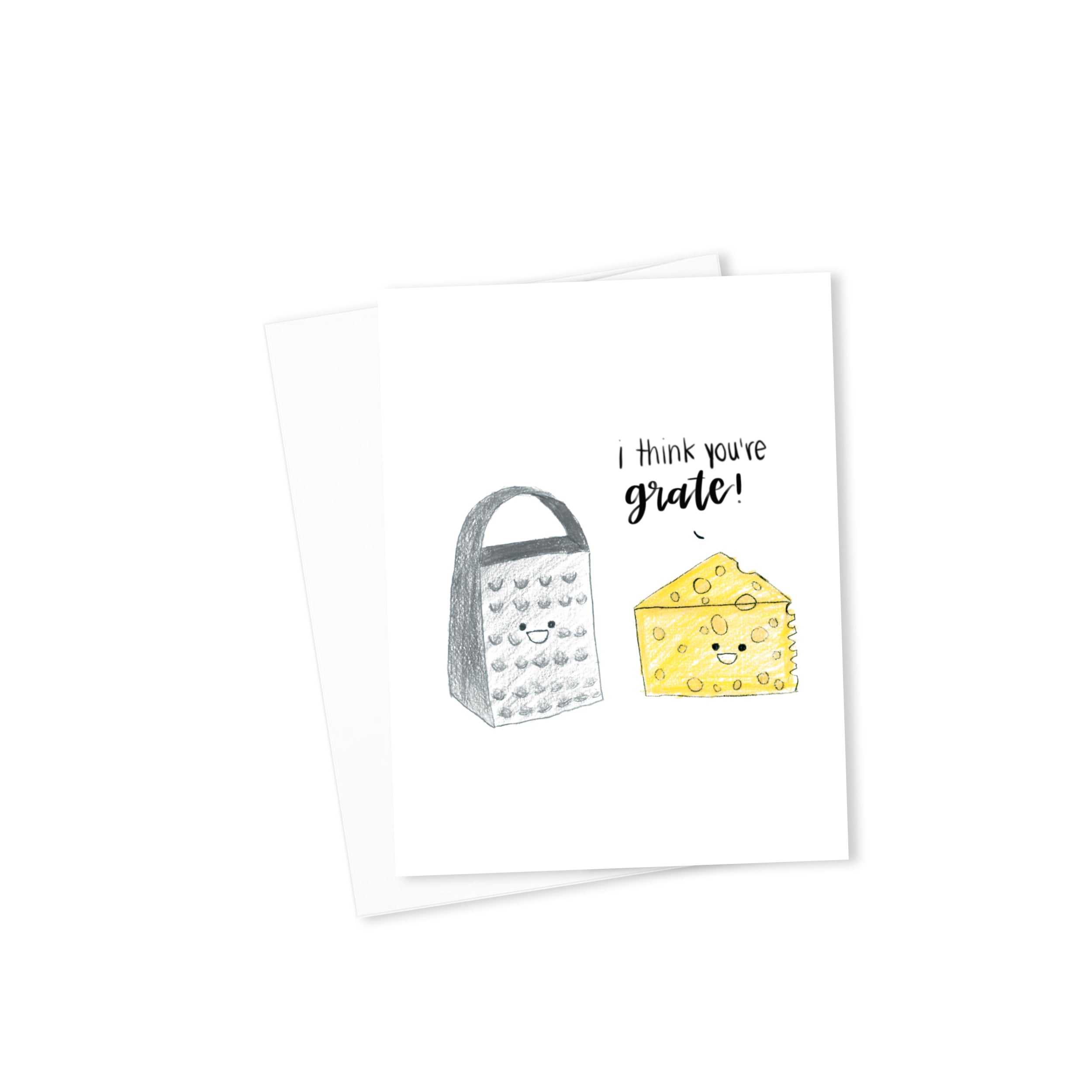 I Think You're Grate Card-Cards-Morning Blossom Studio