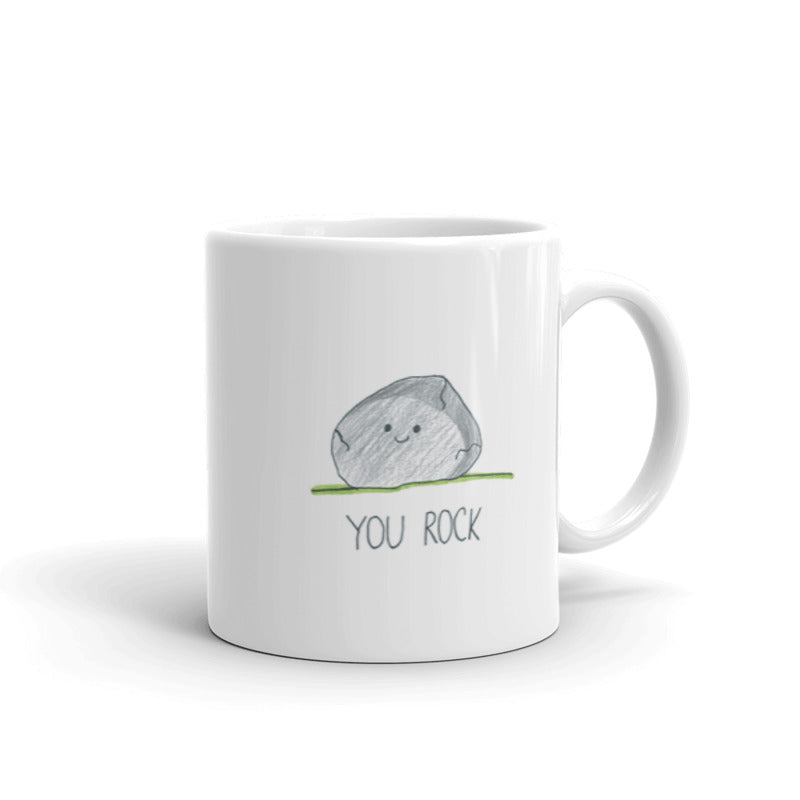 You Rock Pun Ceramic Mug