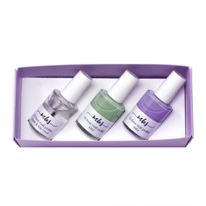 Nail Polish Trio (M63 + M84 + Clear Coat)-Gifts-Morning Blossom Studio