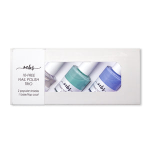 Nail Polish Trio (M64 + M74 + Clear Coat)-Gifts-Morning Blossom Studio