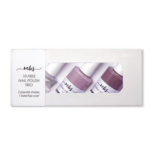 Nail Polish Trio (N11 + N14 + Clear Coat)