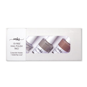 Nail Polish Trio (N31 + N33 + Clear Coat)-Gifts-Morning Blossom Studio