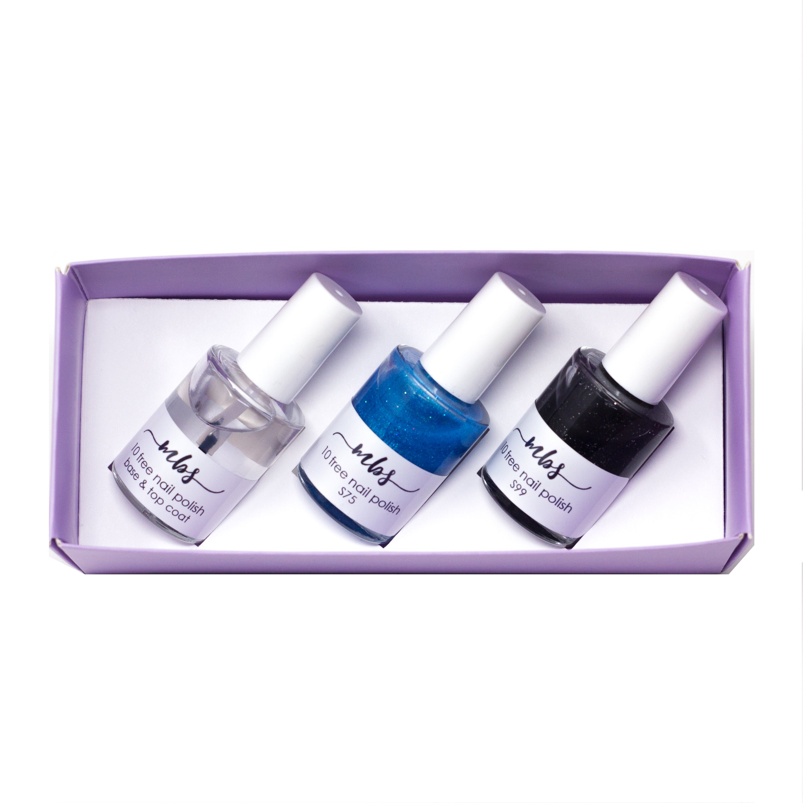 Nail Polish Trio (S75 + S99 + Clear Coat)-Gifts-Morning Blossom Studio