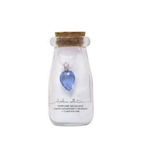 Perfume Necklace (Blue)-Morning Blossom Studio