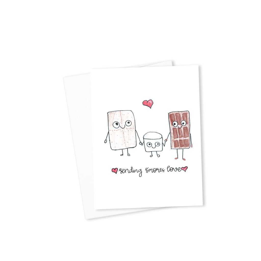 Sending S'mores Love Card-Cards-Morning Blossom Studio