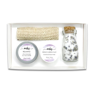 Relaxing Spa Quartet-Gifts-Morning Blossom Studio