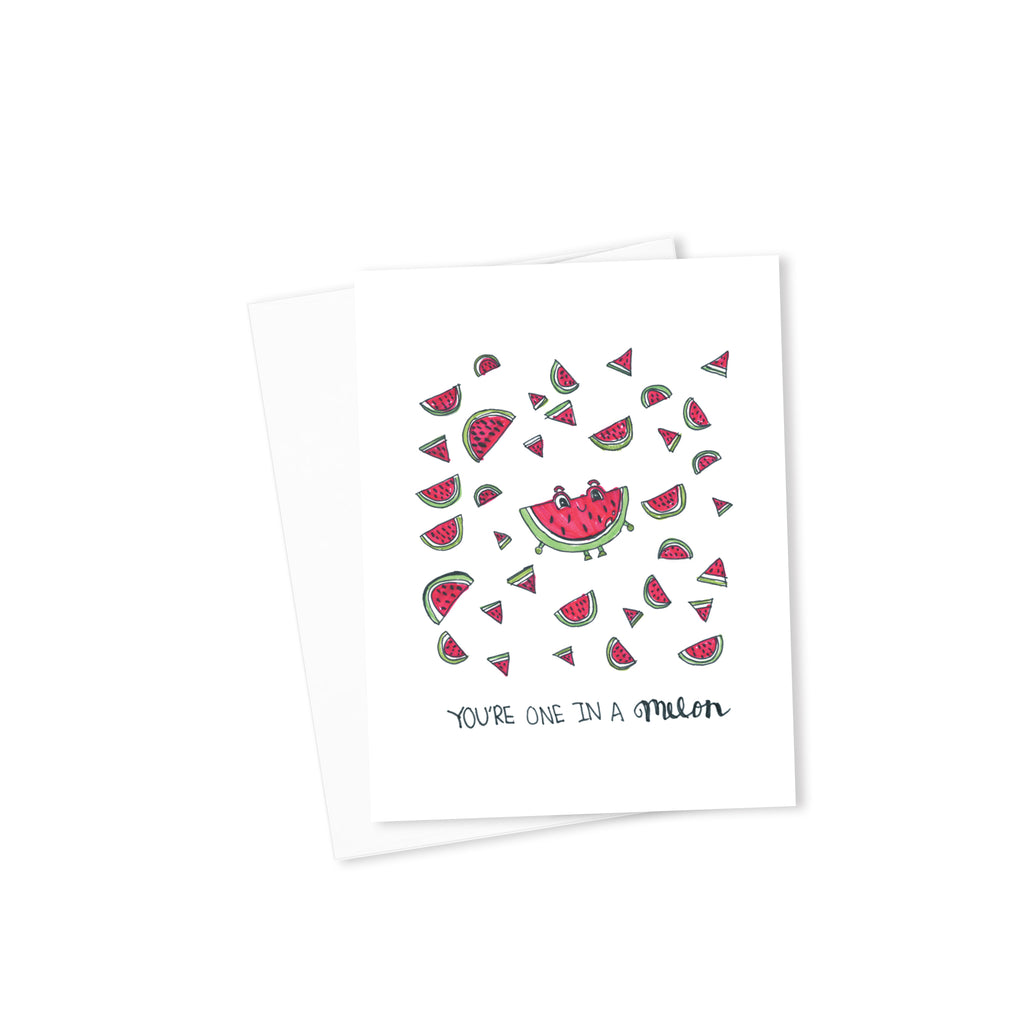 You Are One in a Melon-Cards-Morning Blossom Studio