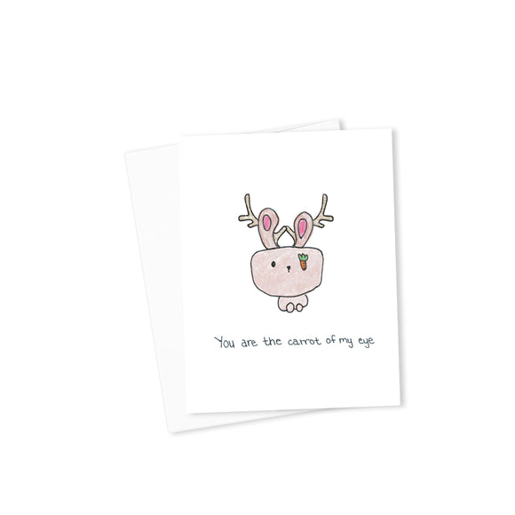 You Are the Carrot of My Eye-Cards-Morning Blossom Studio