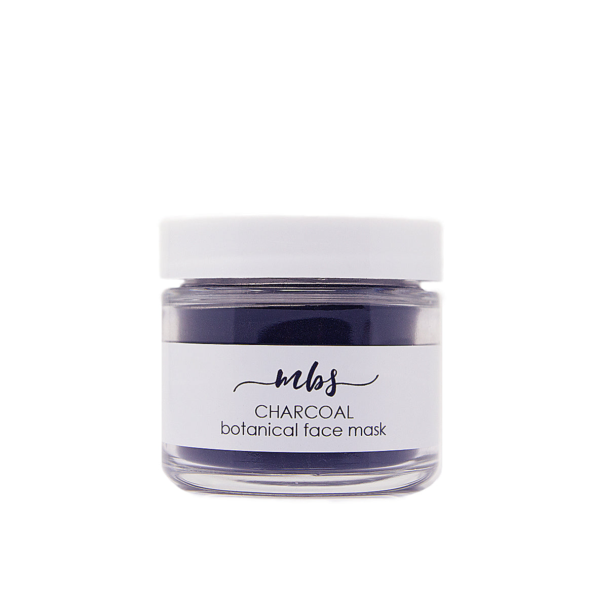 Charcoal botanical face mask-Face Mask-Morning Blossom Studio