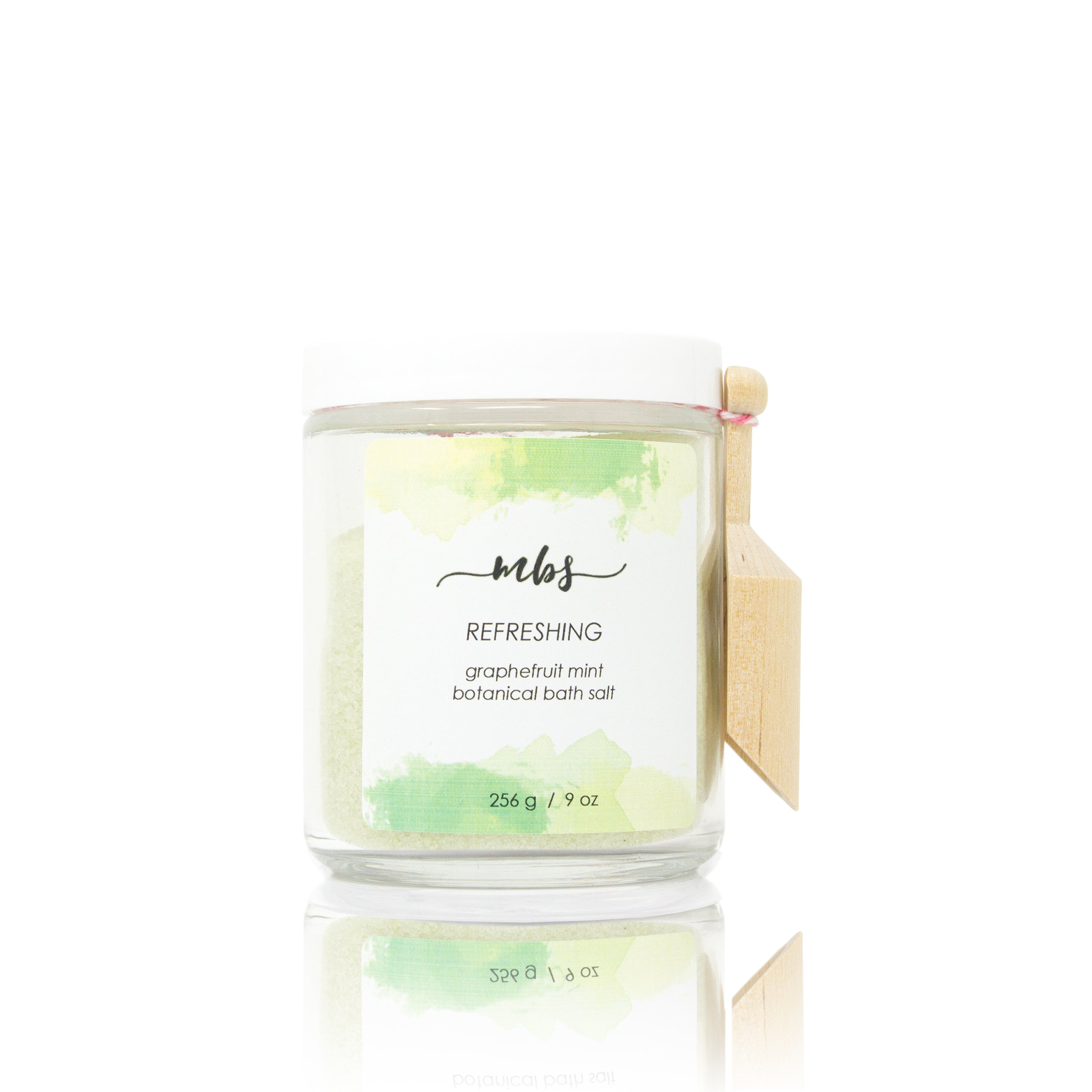 Grapefruit mint bath salt-Bath Salt-Morning Blossom Studio