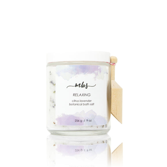 Citrus lavender botanical bath salt-Morning Blossom Studio