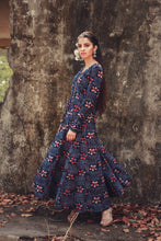 Sabbia - Printed panel Anarkali gown