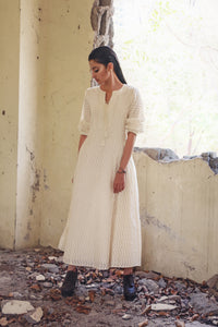 Dahlia - Chanderi Anarkali gown