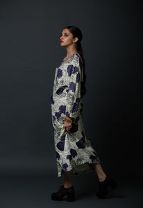 Violet - Marigold printed maxi dress