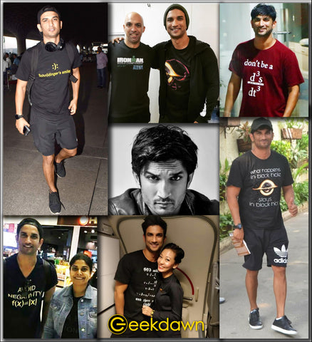 GeekDawn Sushant Singh Rajput Collection