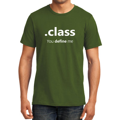 Coffee Mug - .class , you define me
