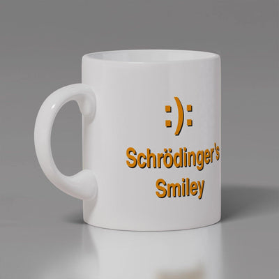 Coffee Mug-Schrodinger's Smiley